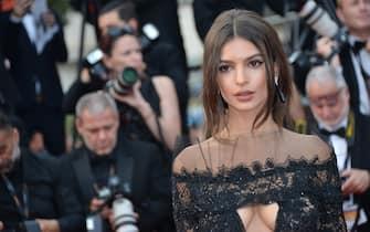 "70th Cannes Film Festival 2017, Red carpet film ""Nelyubov"". Pictured: Emily Ratajkowski"