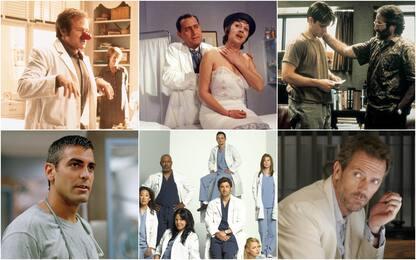 Dottori su grande e piccolo schermo, medici più famosi in film e serie