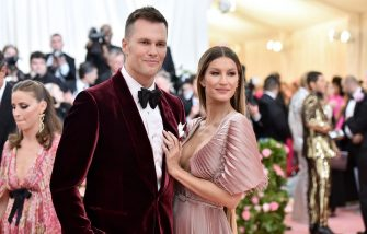 NEW YORK, NEW YORK - MAY 06: Tom Brady and Gisele Bündchen attend The 2019 Met Gala Celebrating Camp: Notes on Fashion at Metropolitan Museum of Art on May 06, 2019 in New York City. (Photo by Theo Wargo/WireImage)