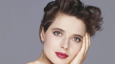 Italian actress Isabella Rossellini is in the French capital to promote her exhibition of 50 photographic portraits at the Palais de Tokyo. (Photo by frederic meylan/Sygma via Getty Images)