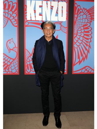 PARIS, FRANCE - JUNE 24:  Kenzo Takada attends the Kenzo Menswear Spring/Summer 2019 show as part of Paris Fashion Week on June 24, 2018 in Paris, France.  (Photo by Pierre Suu/Getty Images)