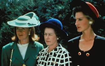 "Nicola Formby interpreta Diana Spencer in  ""Le donne di Windsor"" del 1992"