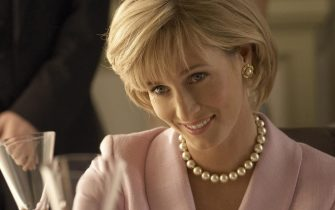 EMBARGOED UNTIL 0001 ON MONDAY JULY 9, 2007Undated Five TV handout photo of a still from factual drama, Diana: Last Days of a Princess. Diana played by Genevieve O'Reilly.
