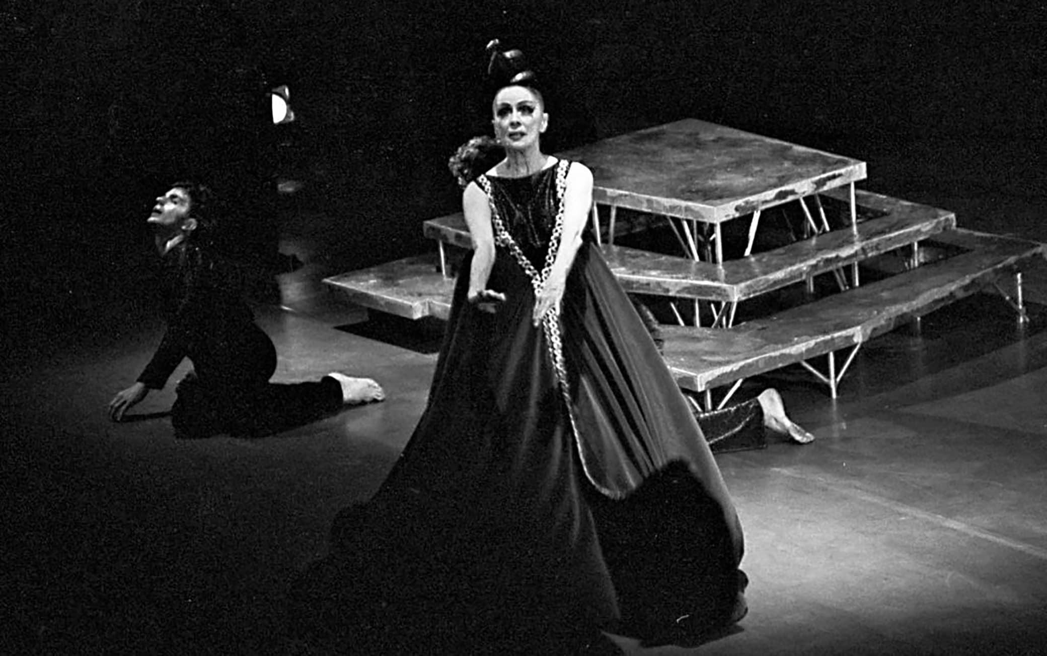 Martha Graham nel 1968