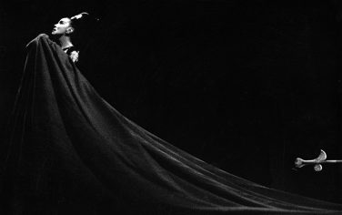 """Martha Graham as """"Clytemnestra"""", 1967.  (Photo by Jack Mitchell/Getty Images)"""