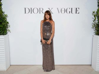 CANNES, FRANCE - JULY 10: Carla Bruni attends the Dior dinner during the 74th annual Cannes Film Festival on July 10, 2021 in Cannes, France. (Photo by Francois Durand/Getty Images for Dior)