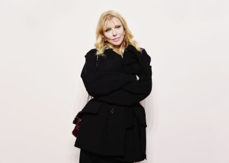 NEW YORK, NEW YORK - FEBRUARY 06: Courtney Love attends the Tom Ford FW 2019 Arrivals during New York Fashion Week: The Shows on February 06, 2019 in New York City. (Photo by Nicholas Hunt/Getty Images)