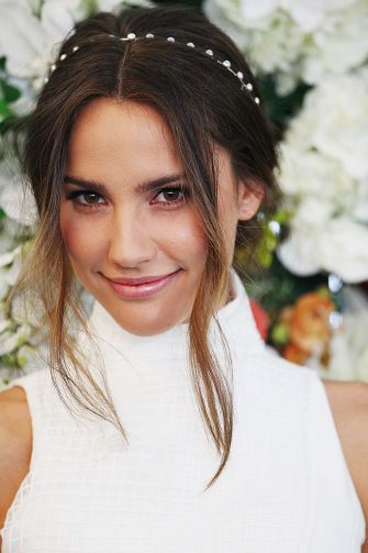 SYDNEY, AUSTRALIA - SEPTEMBER 02:  Rachael Finch  poses at the launch the 2014 Sydney Spring Carnival at Royal Randwick Racecourse on September 2, 2014 in Sydney, Australia.  (Photo by Don Arnold/WireImage)