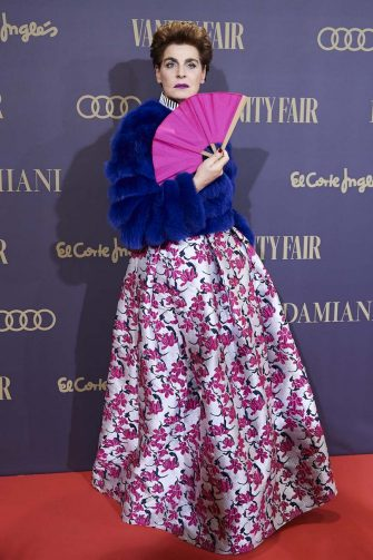 MADRID, SPAIN - NOVEMBER 25:  Antonia Dellâ  Atte attends the Vanity Fair awards 2019 at the Royal Theater on November 25, 2019 in Madrid, Spain. (Photo by Carlos Alvarez/Getty Images)