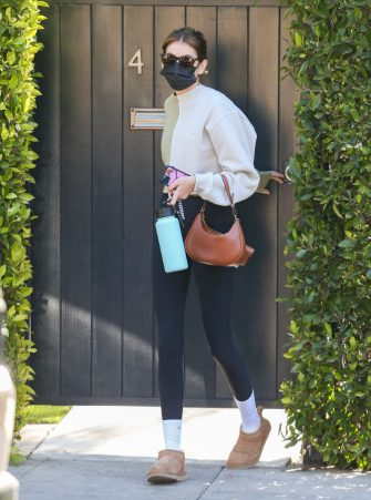 LOS ANGELES, CA - MARCH 27: Kaia Gerber is seen on March 27, 2021 in Los Angeles, California.  (Photo by Bellocqimages/Bauer-Griffin/GC Images)