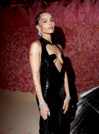 NEW YORK, NEW YORK - MAY 06: (EXCLUSIVE COVERAGE) Zoe Kravitz attends The 2019 Met Gala Celebrating Camp: Notes on Fashion at Metropolitan Museum of Art on May 06, 2019 in New York City. (Photo by Kevin Tachman/MG19/Getty Images for The Met Museum/Vogue)