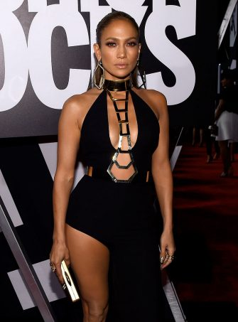 NEW YORK, NY - SEPTEMBER 09: Jennifer Lopez attends Fashion Rocks 2014 presented by Three Lions Entertainment at the Barclays Center of Brooklyn on September 9, 2014 in New York City.  (Photo by Larry Busacca/Getty Images for Three Lions Entertainment)