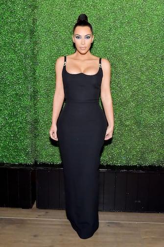 BEVERLY HILLS, CA - MARCH 31:  Kim Kardashian West attends KKWxMario Dinner at Jean-Georges Beverly Hills on March 31, 2018 in Beverly Hills, California.  (Photo by Stefanie Keenan/WireImage)