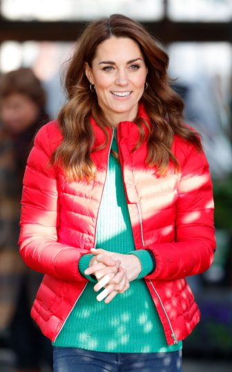 GREAT MISSENDEN, UNITED KINGDOM - DECEMBER 04: (EMBARGOED FOR PUBLICATION IN UK NEWSPAPERS UNTIL 24 HOURS AFTER CREATE DATE AND TIME) Catherine, Duchess of Cambridge joins families and children who are supported by the charity Family Action at Peterley Manor Farm on December 4, 2019 in Great Missenden, England. This is to mark HRH's new patronage of Family Action. (Photo by Max Mumby/Indigo/Getty Images)