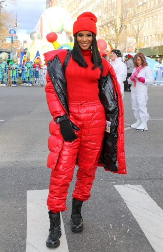 NEW YORK, NY - NOVEMBER 28: Ciara attends the 93rd Annual Macy's Thanksgiving Day Parade on November 28, 2019 in New York City.  (Photo by Jose Perez/Bauer-Griffin/GC Images)
