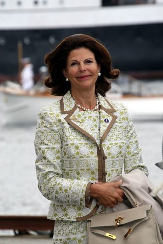 STAVANGER, NORWAY - JULY 4: (DENMARK OUT) Queen Silvia of Sweden attends celebrations for Queen Sonja of Norway's 70th Birthday on July 4, 2007 in Stavanger, Norway. (Photo by Niels Henrik Dam/Getty Images)