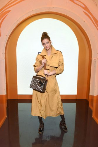 NEW YORK, NEW YORK - FEBRUARY 05: Barbara Palvin attends The Launch of Solar Dream hosted by Fendi on February 05, 2020 in New York City. (Photo by Noam Galai/Getty Images for Fendi)