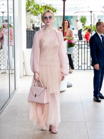 CANNES, FRANCE - MAY 23: Elle Fanning is seen at the hotel Martinez during the 72nd annual Cannes Film Festival on May 23, 2019 in Cannes, France. (Photo by Arnold Jerocki/GC Images)