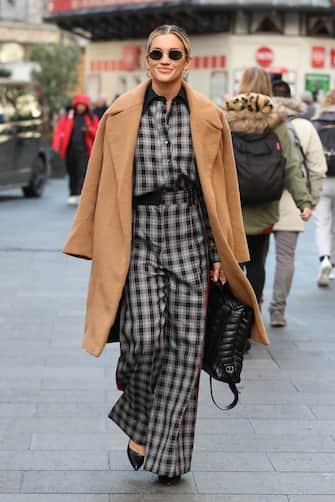LONDON, ENGLAND - NOVEMBER 04:  Ashley Roberts seen leaving Heart Breakfast Radio Studios on November 04, 2019 in London, England. (Photo by Neil Mockford/GC Images)