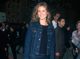Heidi Klum at the premiere of 'Hamlet' presented by Miramax Films in New York City. 05/01/00    Photo by Evan Agostini/ImageDirect