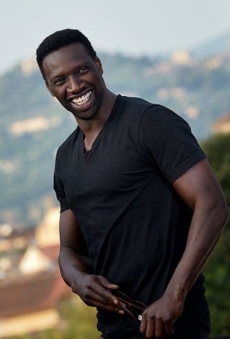 French actor Omar Sy poses during the photocall of the film ''Inferno'' in Florence on May 11, 2015. AFP PHOTO / TIZIANA FABI        (Photo credit should read TIZIANA FABI/AFP via Getty Images)