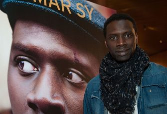 LOS ANGELES, CA - APRIL 23:  Actor Omar Sy arrives at the COLCOA French Film Festival at Directors Guild Of America on April 23, 2015 in Los Angeles, California.  (Photo by Valerie Macon/Getty Images for COLCOA)