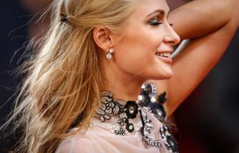epa04213334 US socialite Paris Hilton arrives for the screening of 'The Rover' during the 67th annual Cannes Film Festival, in Cannes, France, 18 May 2014. The movie is presented out of competition at the festival which runs from 14 to 25 May.  EPA/JULIEN WARNAND