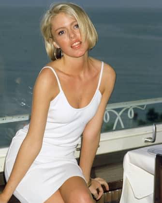 British actress Patsy Kensit, circa 1990. (Photo by Dave Hogan/Hulton Archive/Getty Images)