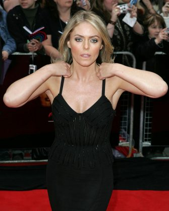 Patsy Kensit during The 2006 British Academy Television Awards - Arrivals at Grosvenor House Hotel in London, Great Britain. (Photo by Goffredo di Crollalanza/FilmMagic)