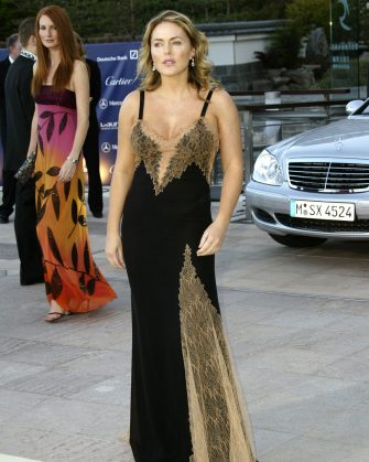 Patsy Kensit during 2003 Laureus World Sports Awards - Arrivals at Grimaldi Forum in Monte Carlo, Monaco. (Photo by Toni Anne Barson Archive/WireImage)