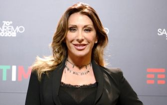 Italian singer Sabrina Salerno poses during a photocall at the 70th Sanremo Italian Song Festival, Sanremo, Italy, 08 February 2020. The festival runs from 04 to 08 February. ANSA/RICCARDO ANTIMIANI