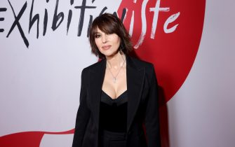 PARIS, FRANCE - FEBRUARY 24: Monica Bellucci attends the Exhibition Opening of L'Exibition[niste] by Christian Louboutin as part of Paris Fashion Week Womenswear Fall/Winter 2020/2021 on February 24, 2020 in Paris, France. (Photo by Victor Boyko/Getty Images For Christian Louboutin)