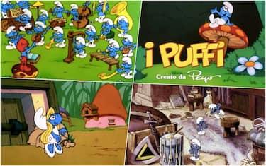 I Puffi tra cartone animato e film
