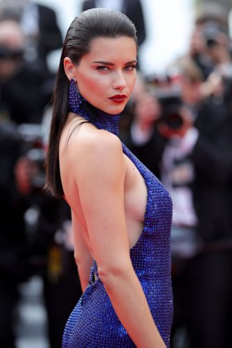 """CANNES, FRANCE - MAY 22: Adriana Lima attends the screening of """"Oh Mercy! (Roubaix, une Lumiere)"""" during the 72nd annual Cannes Film Festival on May 22, 2019 in Cannes, France. (Photo by Andreas Rentz/Getty Images)"""