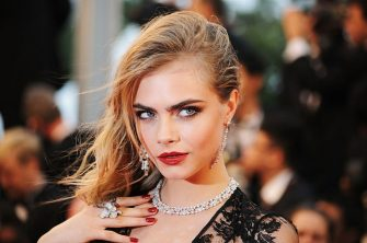 CANNES, FRANCE - MAY 15:  Model Cara Delevingne attends the Opening Ceremony and 'The Great Gatsby' Premiere during the 66th Annual Cannes Film Festival at the Theatre Lumiere on May 15, 2013 in Cannes, France.  (Photo by Traverso/L'Oreal/Getty Images)
