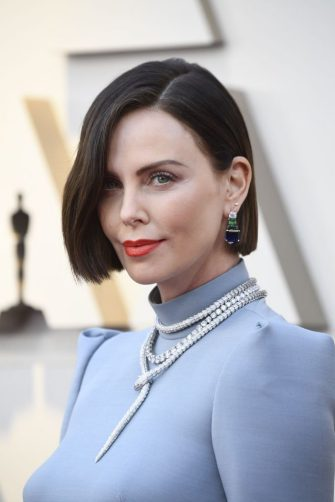 HOLLYWOOD, CALIFORNIA - FEBRUARY 24: Charlize Theron attends the 91st Annual Academy Awards at Hollywood and Highland on February 24, 2019 in Hollywood, California. (Photo by Frazer Harrison/Getty Images)