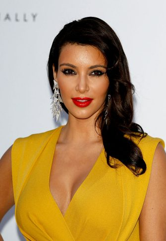 CAP D'ANTIBES, FRANCE - MAY 24:  Kim Kardashian arrives at the 2012 amfAR's Cinema Against AIDS during the 65th Annual Cannes Film Festival at Hotel Du Cap on May 24, 2012 in Cap D'Antibes, France.  (Photo by Andreas Rentz/Getty Images)