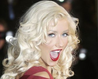 CANNES, FRANCE - JANUARY 20:  Singer Christina Aguilera attends the 2007 NRJ Music Awards held at the Palais des Festivals in Cannes, France on January 20, 2007.  (Photo by Pascal Le Segretain/Getty Images)
