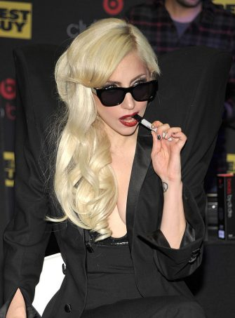 LOS ANGELES, CA - NOVEMBER 23:  Singer Lady Gaga attends the launch party for Club Beats presented by Best Buy, Monster, & Beats By Dr. Dre at Best Buy on November 23, 2009 in Los Angeles, California.  (Photo by John Shearer/WireImage for Best Buy)