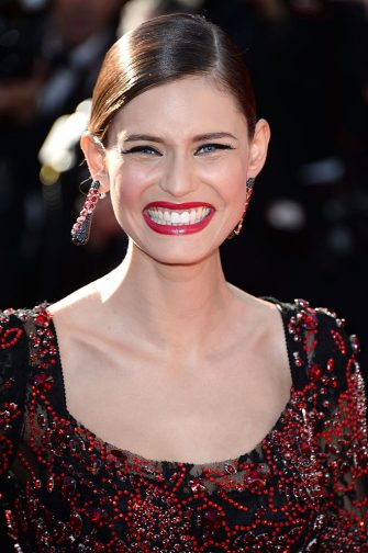 CANNES, FRANCE - MAY 25:  Model Bianca Balti attends the Premiere of 'La Venus A La Fourrure' during the 66th Annual Cannes Film Festival at the Palais des Festivals on May 25, 2013 in Cannes, France.  (Photo by Venturelli/WireImage)