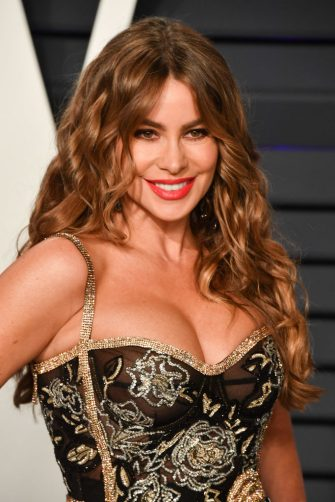BEVERLY HILLS, CALIFORNIA - FEBRUARY 24: Sofia Vergara attends the 2019 Vanity Fair Oscar Party hosted by Radhika Jones at Wallis Annenberg Center for the Performing Arts on February 24, 2019 in Beverly Hills, California. (Photo by George Pimentel/Getty Images)