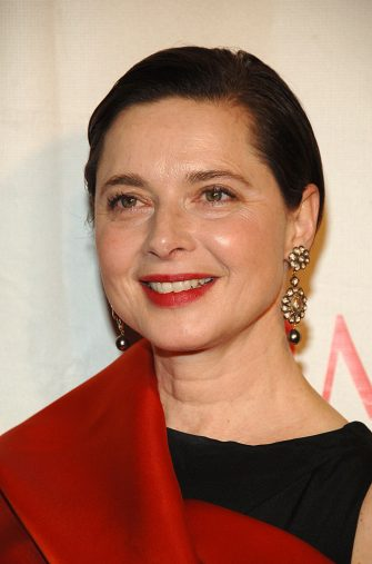 Isabella Rossellini during Time Magazine's 100 Most Influential People 2006 - Arrivals at Jazz at Lincoln Center at Time Warner Center in New York City, New York, United States. (Photo by Dimitrios Kambouris/WireImage for Rubenstein Communications, Inc.)