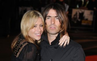 Liam Gallagher and Nicole Appleton at the premiere of Shine A Light at Odeon,Leicester Square,London,England-02.04.08  When: 02 Apr 2008 Credit: WENN