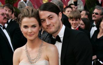Feb 24, 2008 - Hollywood, California, USA - KERI RUSSELL and SHANE DEARY at the 80th Annual Academy Awards held at the Kodak Theatre in Hollywood. (Credit Image: � Lisa O'Connor/ZUMAPRESS.com)