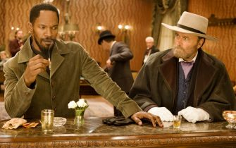 """Jamie Foxx, left, and Franco Nero star in Columbia Pictures' """"Django Unchained,"""" also starring Christoph Waltz."""