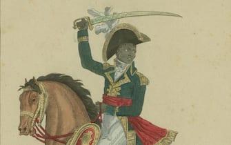 François-Dominique Toussaint Louverture (1743-1803), c.1800. Private Collection.