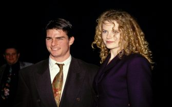 UNITED STATES - APRIL 25:  Tom Cruise and Nicole Kidman in Los Angeles in 1992  (Photo by Vinnie Zuffante/Getty Images)