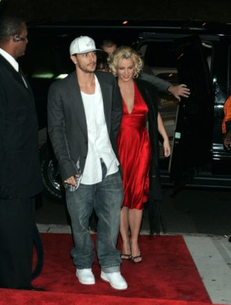 Kevin Federline and Britney Spears (Photo by Ben Rose/WireImage)