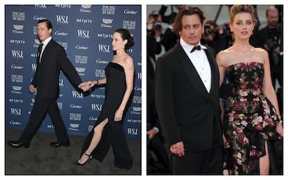 Dai Brangelina a Depp-Heard, i divorzi delle star di Hollywood