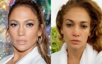 Vip e star senza trucco: meglio le foto con e senza makeup?